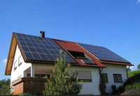 1KW Home Roof Mounting On-grid Solar Power System